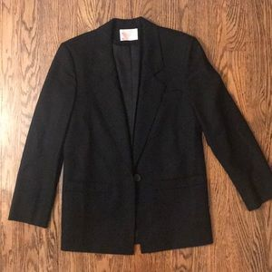 Vintage 90's Pendleton 100% Virgin Wool Blazer